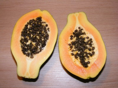 papaya foods high in lysine