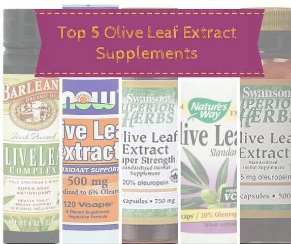 Top 5 Olive Leaf Extract Supplements For Herpes Reviews.